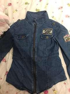 Vintage style jean jacket