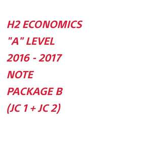 ∆ H2 ECONS NOTE (PACKAGE B) SOFTCOPY
