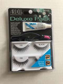 Ardell Deluxe Pack Lashes 110 style, NEW