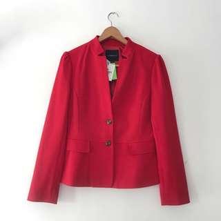 Brand New Red Blazer