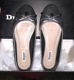 Dune ballerina shoes