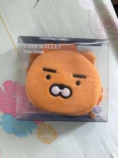 Kakao friends little friends Ryan 散紙包 銀包 coin wallet