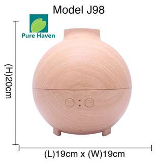 🚚 [PureHaven.SG] BNIB Premium Humidifier Aroma Diffuser For Home Office Model J98 @ SGD 79
