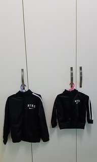 Nike Jacket size 7 yr and 1 yr (Rm90 for both)