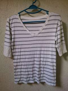 Calvin Klein Blouse Medium US Size ( Fit to Large built)