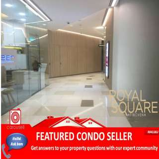 No ABSD! Direct link to Novena MRT! Shop space for sale