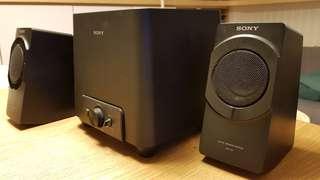 🚚 SONY 2.1聲道 Speaker 喇叭