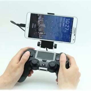 🚚 Clip/clamp for Mounting Mobile Phone to PS4 Controller for Smartphone Gaming