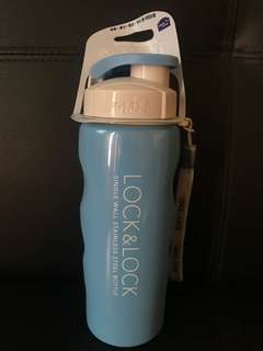 Lock & lock single wall stainless steel bottle