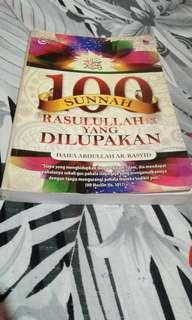 Buku Agama: 100 Sunnah Rasulullah Yang Dilupakan