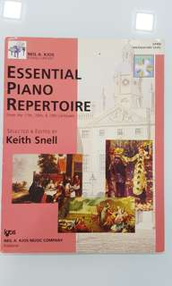 Essential Piano Repertoire Preparatory Level by Keith Snell c/w CD