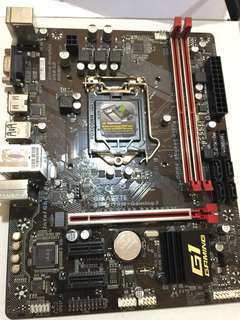 Motherboard mb gigabyte h110m-gaming3