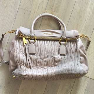 Miu Miu 2way Bag 真皮手袋