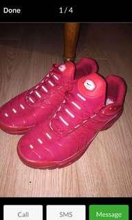 Rare Red Nike Tns