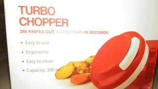 Tupperware, turbo chopper