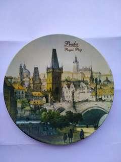布拉格,古董瓷碟 Prague