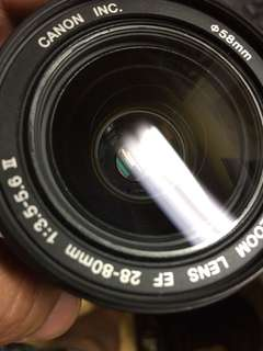 🚚 Canon ef af 28 80mm len