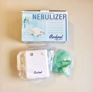 Brandnew Compact Nebulizer with Complete Accessories + FREE Mouthpiece