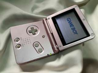 Metalic Pink Nintendo Gameboy Advance SP AGS - 001