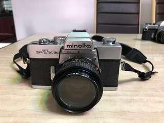 Vintage film camera SLR - Minolta SRT303b (body only)