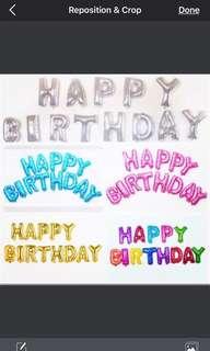 Happy Birthday balloons 16 inch