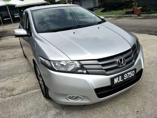 2010 HONDA CITY 1.5 E (A) FULL SPEC, PADDLE SHIFT WITH PERFECT CONDITION