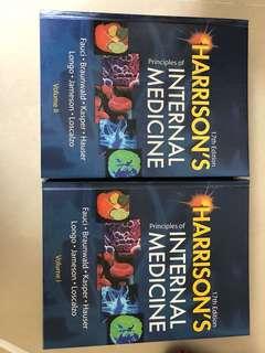 Harrison's Principles if INTERNAL MEDICINE volume 1&2
