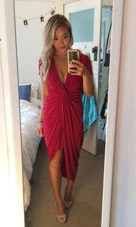 Date night red dress