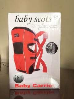 Gendongan bayi baby scots platinum 2in1