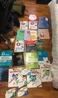 Used Textbooks, workbooks and TYS