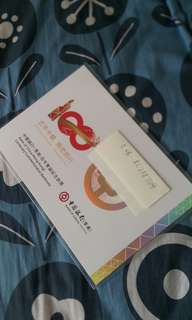 中銀紀念鈔BC288704