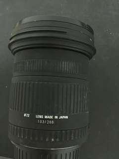 SIGNA單眼相機17-70mm廣角鏡頭用不到便宜賣