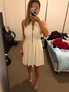 Small Zara white dress