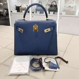 Hermes kelly 28 epsom X stamp
