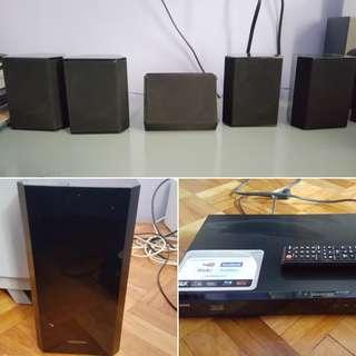 5.1 Samsung Dvd player