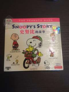 Snoopy story 9 VCDs