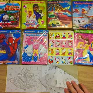 Children Goodie Bags Coloring and stickers book