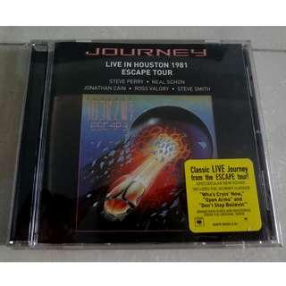 Journey CD Live In Houston 1981 Escape Tour