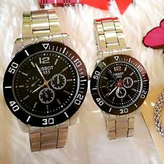 Couple Watch Tissot / Tag Heuer