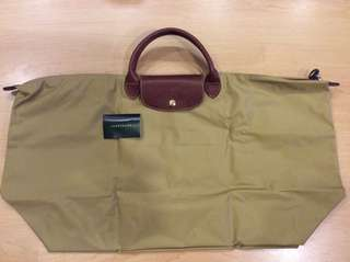 Authentic New Longchamp Travel Bag XL