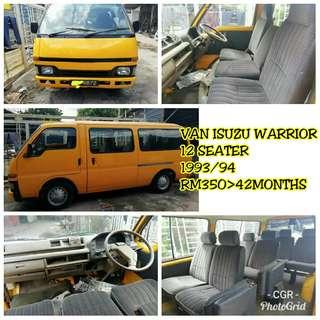 Sambung bayar Van Isuzu Warrior 12 Seater