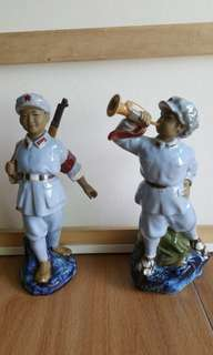 Cultural Revolution Figurines.