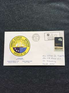 US 1969 Apollo 12 Launch Day Space Cover stamp