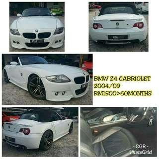 Sambung Bayar BMW Z4 Cabriolet