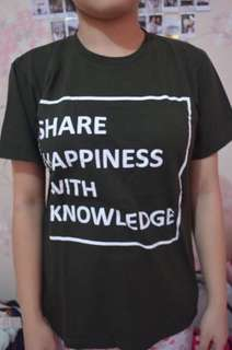 Share Happiness With Knowledge Top