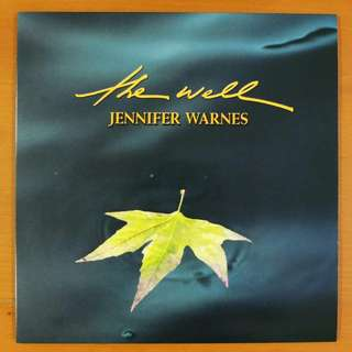 "Vinyl LP: Jennifer Warnes ""The Well"" *2001 Cisco Music CLP7009 version"