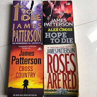 🚚 James Patterson series - set of 4