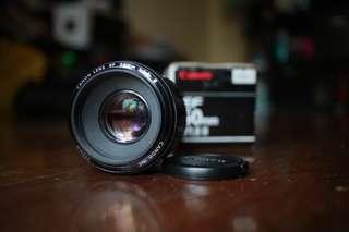 Canon EF 50mm f1.8 lens