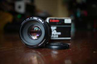 Canon EF 50mm f1.8 lens