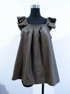 Genuine Leather top